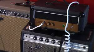 guytronix gilmore jr diy amp kit head demo with strat 12 alnico blue