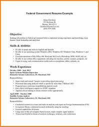 Government Job Resume Government Resume Template FlatOutFlat Templates 48