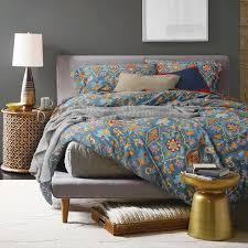 100 cotton bedding set plant flower pattern printed duvet cover home textiles for