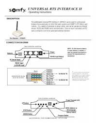somfy unoiversal ir, rs232, rs485 interface av outlet IR Emitter Wiring-Diagram at Spomfy Ir Wiring Diagram