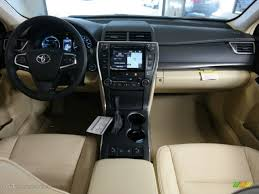 2015 Creme Brulee Mica Toyota Camry Hybrid XLE #98566649 Photo #11 ...