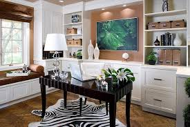 feng shui in office. View In Gallery Elegant And Refreshing Contemporary Home Office [Design:  Kathy Daukant Interior Design] Feng Shui