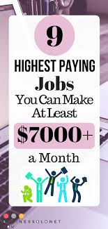 Best Paying Jobs For Teens Pin On Make Money From Home Online Best Work At Home Jobs