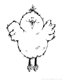 Chicken Coloring Pages Scooter Chicken Coloring Page Coloring Page