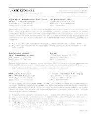 Police Specialist Sample Resume Podarki Co