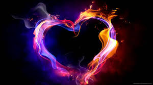 amazing flame valentine s day heart