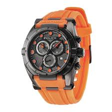 police men s raptor black orange watch shopping products and police men s raptor black orange watch