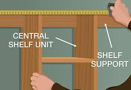 position unit closet build closet organizer position the central shelf