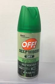 deet travel size 1 deep woods off insect repellent dry 2 5 oz ea travel size 25