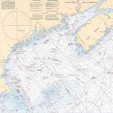 Gulf Of Maine Chart The Gulf Of Maine