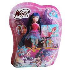 Winx Club Mythix Fairy Musa Doll 28cm with Mythix Scepter Dolls Toys & Games