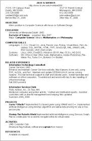 Resume Templates On Microsoft Word Enchanting Free Information Technology Resume Templates Microsoft Word Sample