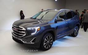 2018 gmc models. perfect 2018 2018 gmc terrain compact suv moves to allturbocharged lineup at detroit  auto show with gmc models o
