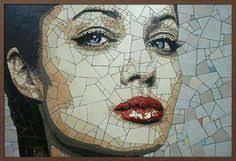Track Wild   <b>Mosaic art</b>, <b>Mosaic</b> portrait