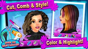 sunnyville salon game play free hair nail make up games revenue estimates app us