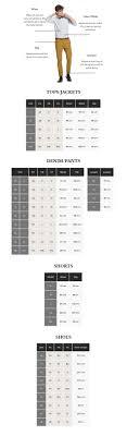Size Guide Scotch Soda Amsterdam Couture