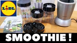 Test : Blender à smoothie Silvercrest Lidl - Nutrition Mixer Silvercrest -  YouTube