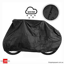 outdoor dust rain waterproof cover for bicycle black colour ping ping square com au bargain ping square