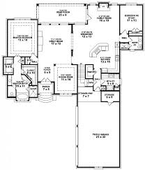 one story house plans with and 5 bedroom floor for 5 bedroom house plans one story