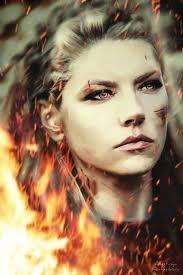 Lagertha Nápady Na Tetování Vikings Séries Tv A Héroïnes