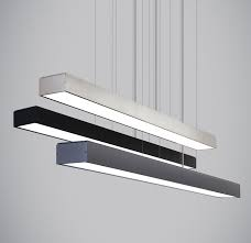 commercial linear pendant lighting beautiful led light bar kitchen home design ideas and