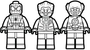 Lego Batman Coloring Pages Lego Batman 3 Coloring Pages Printable