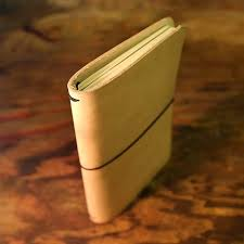 image of double moleskine cahier leather notebook cover