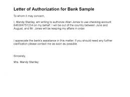 letter of authorization for bank sample 108 1