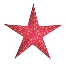 Papierstern Starlet Rot Weihnachtsstern Beleuchtet Kaufen