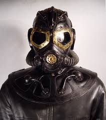 the house of bob basset is famous for their steampunk influenced masks made from either leather or various metals most of the masks are either futuristic