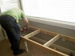 window seat furniture. Charmful How To Make A Window Seat Bench Furniture