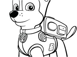 Paw Patrol Coloring Pages Skye Free And Everest Extraordinary Page