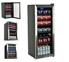 countertop mini refrigerator locking glass door beverage refrigerator display cooler mini fridge