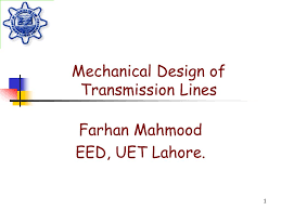 Mechanical Design Ppt Ppt Mechanical Design Of Transmission Lines Powerpoint