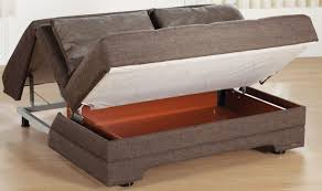 Contemporary Pull Out Sofa Bed With Storage Delightful Convertible Intended Models Design