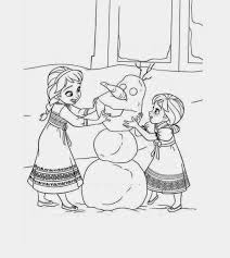 Frozen Disegni Da Stampare E Colorare Con Anna Elsa E Gli Altri