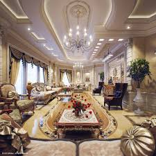 Of Interior Decoration Of Living Room When Looking At This Opulent Breathtaking Villa Visualized By