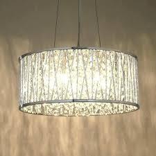 drum pendant lamp shade medium size of lighting black chandelier traditional chandeliers white fabric excelvan diy