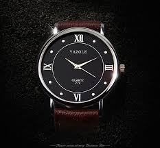 left handed watches promotion shop for promotional left handed yazole brand 279 mens pu leather band quartz watch fashion simple style r number wristwatches 2016 new shipping