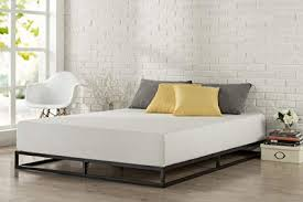 low profile bed. Contemporary Low Zinus Modern Studio 6 Inch Platforma Low Profile Bed Frame Mattress  Foundation Boxspring Optional Throughout L