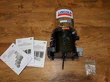lubrication pump lincoln centralized lubrication pump p203 2xl 1k6 24 2a1 01