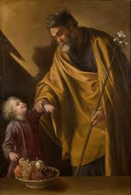 saint joseph with the christ child the collection museo nacional del prado