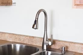moen kitchen faucet handle fell off inspirational how to replace a kitchen faucet honeybear lane