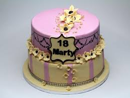 Girls 18th Birthday Cakes Wedding Academy Creative Cool 18th