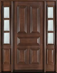 front doors woodEntry Door inStock  Single with 2 Sidelites  Solid Wood with