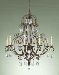 kitchen lovely crystal and bronze chandelier 12 beautiful vintage french for chandeliers of lovely crystal and