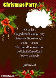 Holiday Dinner Invitation Template Christmas Party Invitations And Christmas Party Invitation