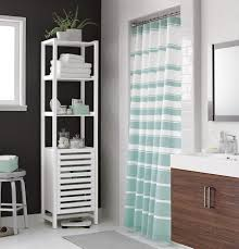 teal striped shower curtain. view in gallery classic striped shower curtain from crate \u0026 barrel teal
