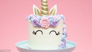 Home Bakers Attempt At A Unicorn Cake Has The Internet In Stitches