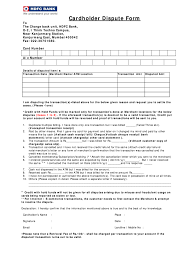 Fill out the required details which also includes the credit card number and payment amount. Hdfc Dispute Form Email Id Fill Online Printable Fillable Blank Pdffiller
